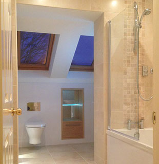 Wallace bathroom refurbishment by Warwick Bathrooms