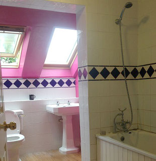 Wallace bathroom before refurbishment