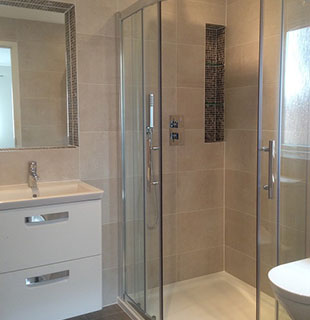 Whitehall bathroom refurbishment by Warwick Bathrooms